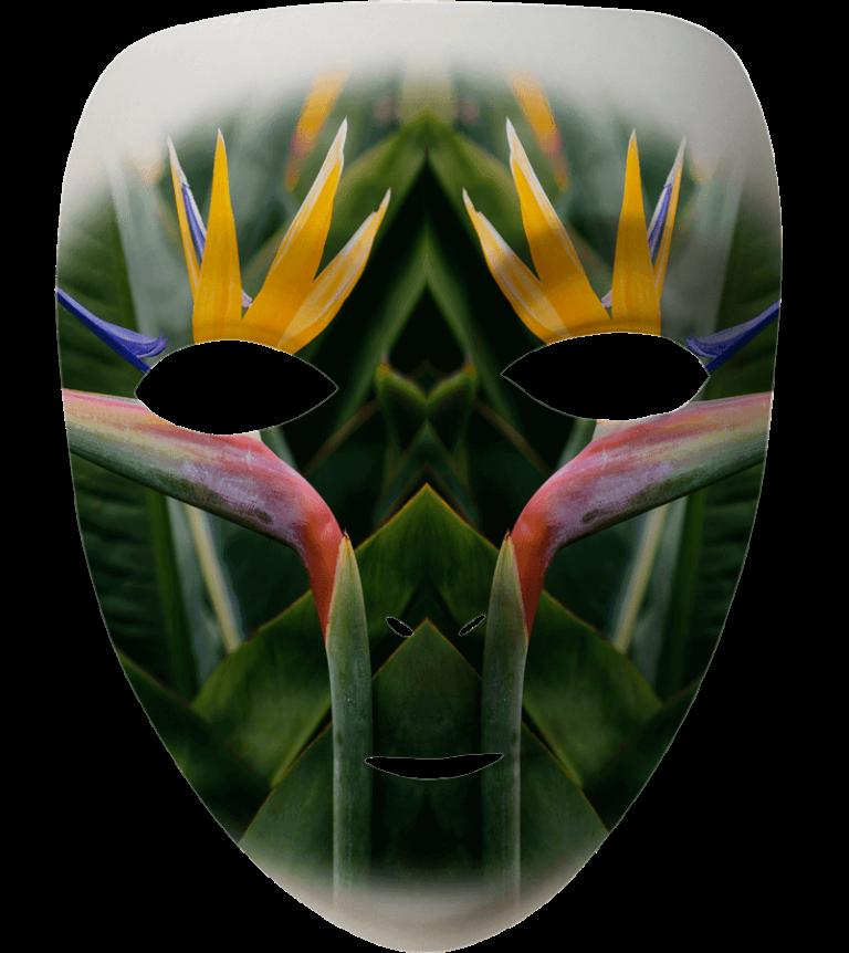 Madeira Mask Filter - Bird of Paradise Flower