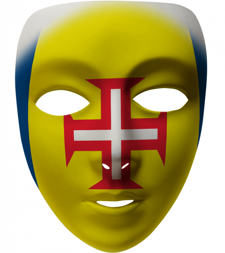 Madeira Mask Filter - Madeira Island Flag